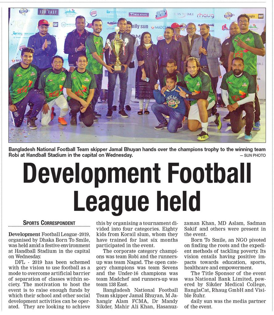 Development League 2019 in Bangladesch